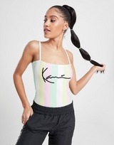 Karl Kani Signature Stripe Bodysuit Dames
