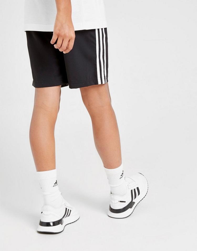adidas 3-Stripes Woven Shorts Junior