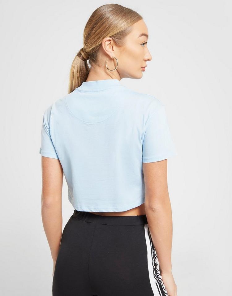 SikSilk Crop T-Shirt Damen