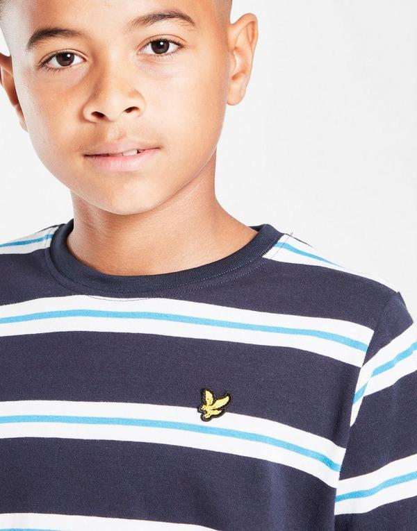 Lyle & Scott Wide Stripe T-Shirt Junior