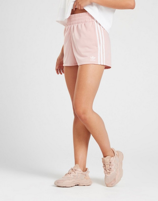Adidas originals pantalone corto 3 stripes donna maxi sport rosa