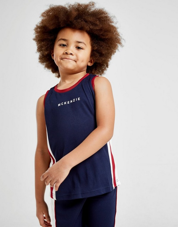 McKenzie Mini Danae Mesh Vest/Shorts Set Children
