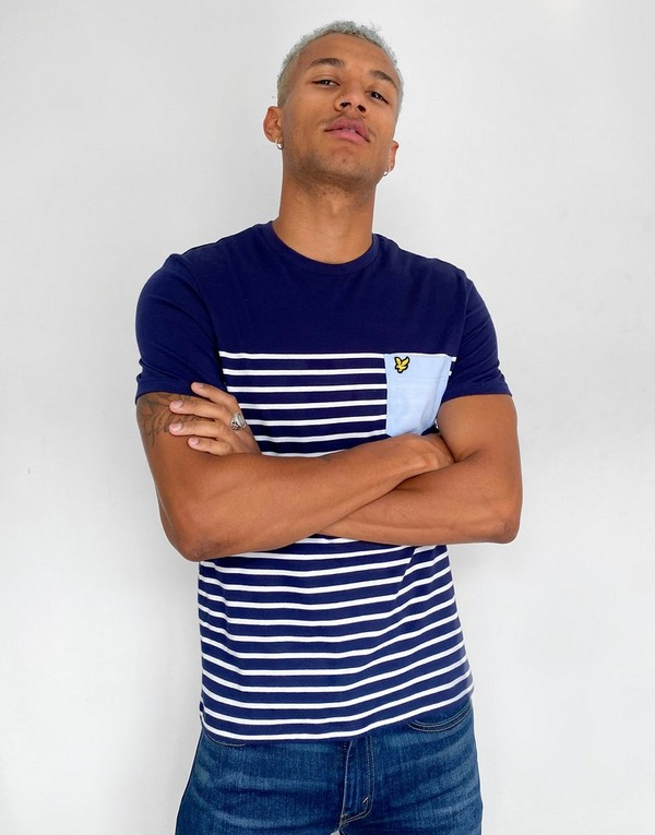 Lyle & Scott Stripe Pocket T-Shirt Men's