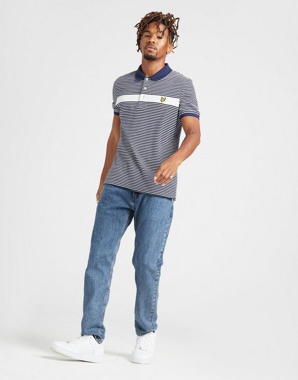 Lyle & Scott Panel Jersey Polo Shirt