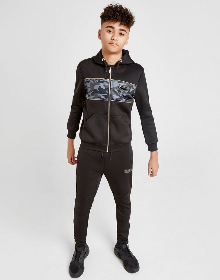 Supply & Demand Camo Hydro Zip Through Hoodie Junior