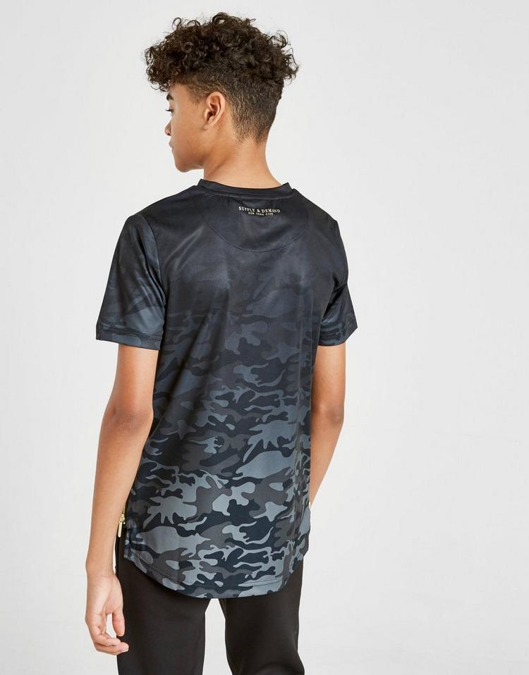 Supply & Demand Camo Signature T-Shirt Junior