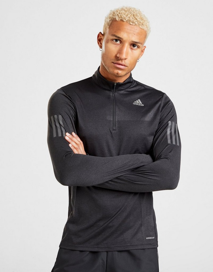 adidas Tech Reflective 1/4 Zip Track Top
