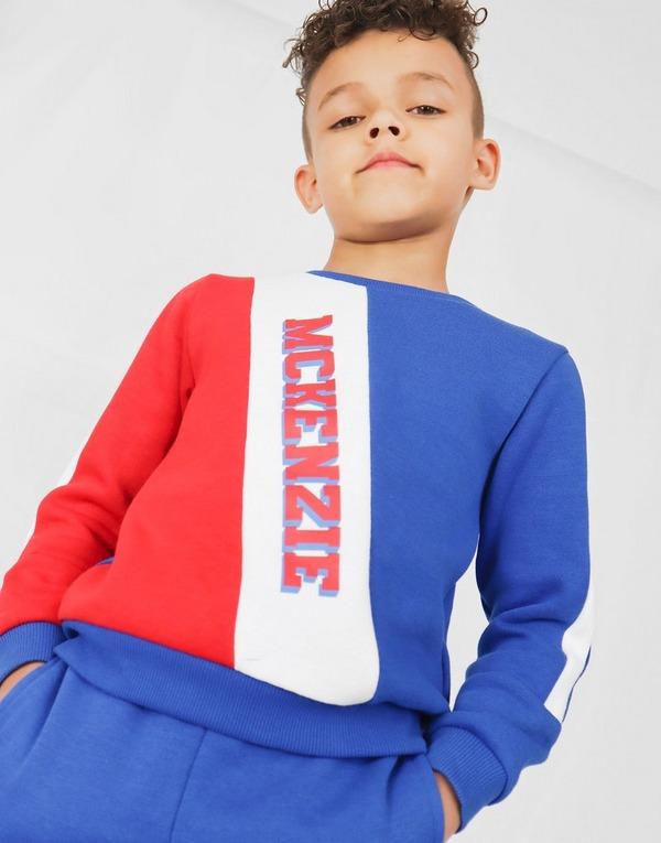 McKenzie Mini Diagonal Crew Tracksuit Children