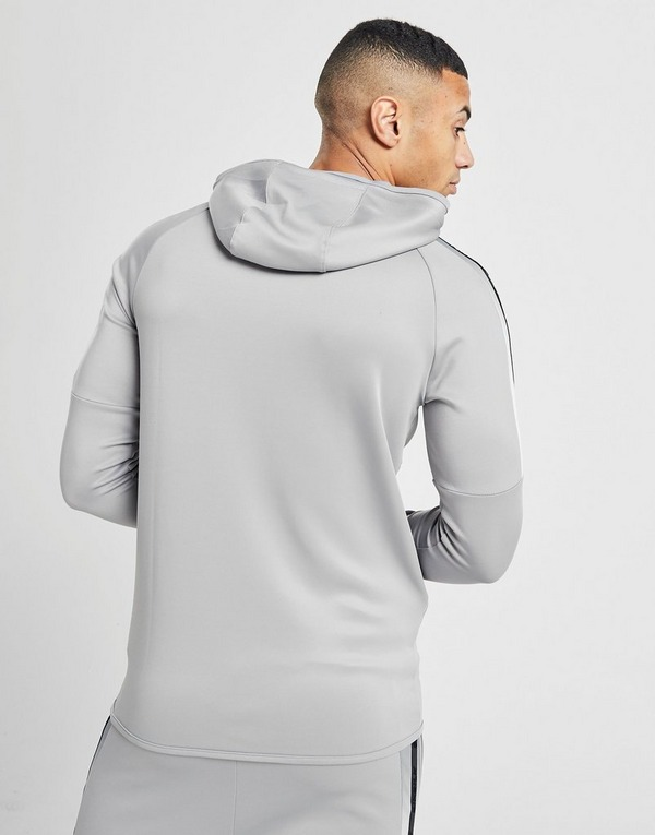 SikSilk Full Zip Fade Panel Hoodie