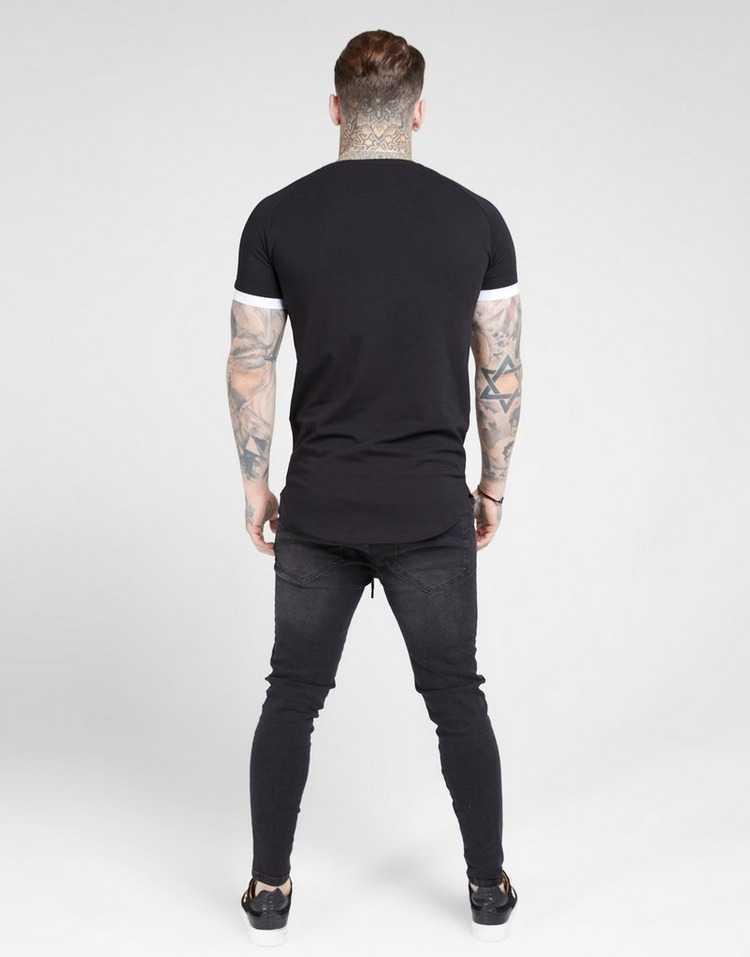 SikSilk Inset Fade T-Shirt