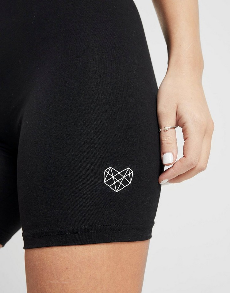 Pink Soda Sport Washed Cycle Shorts Dames