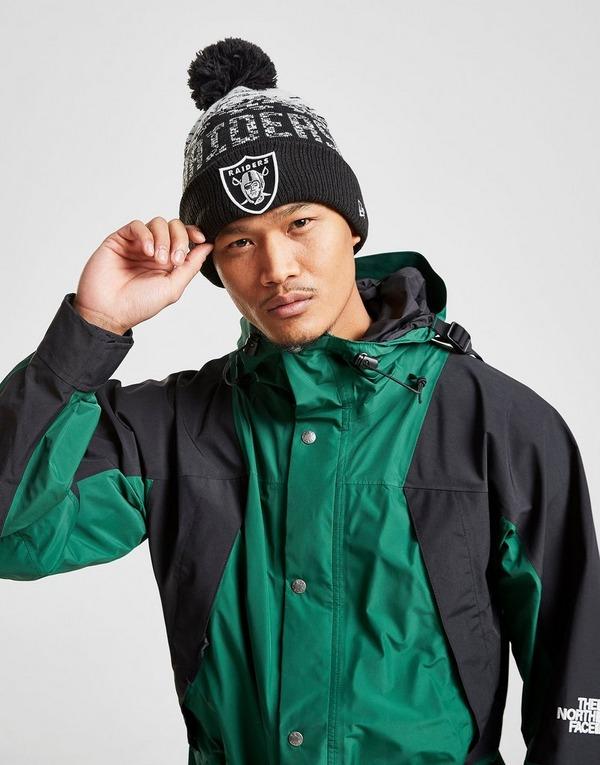 New Era NFL Oakland Raiders Pom Beanie Hat
