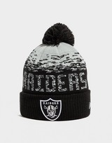 New Era NFL Oakland Raiders Pom Beanie Hat