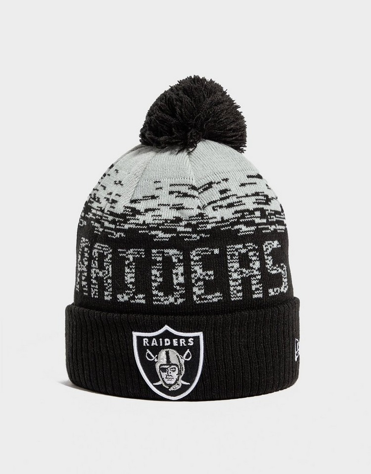 New Era NFL Las Vegas Raiders Pom Beanie Hat