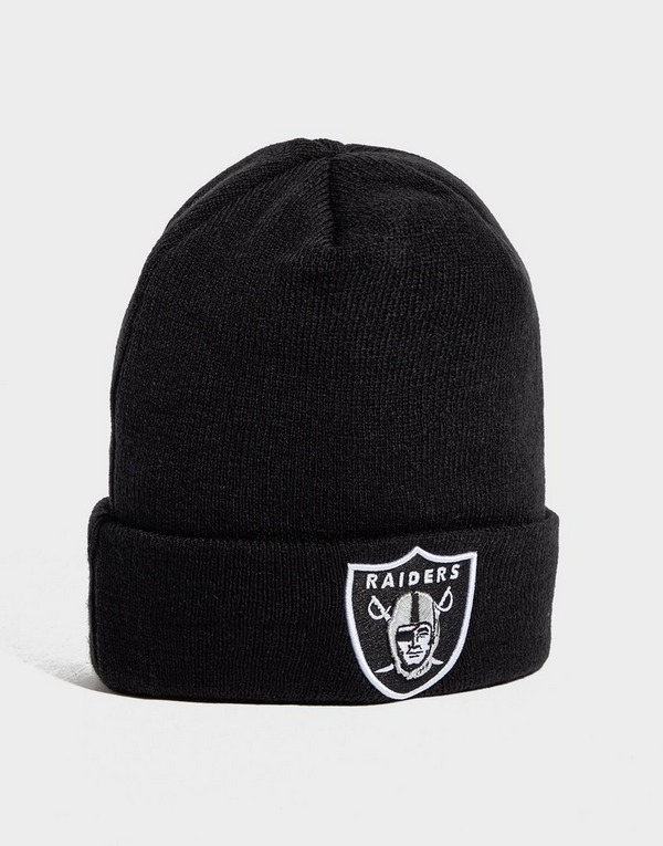New Era NFL Oakland Raiders Cuffed Beanie Hat