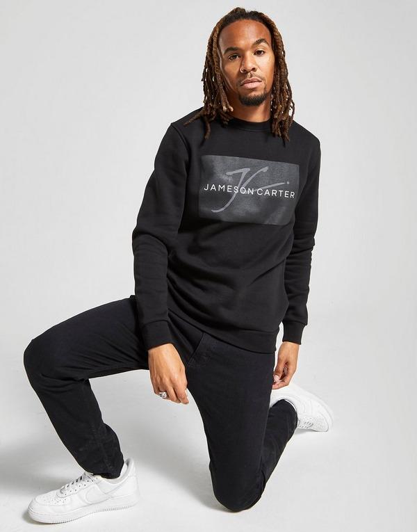 JAMESON CARTER Box Logo Sweatshirt