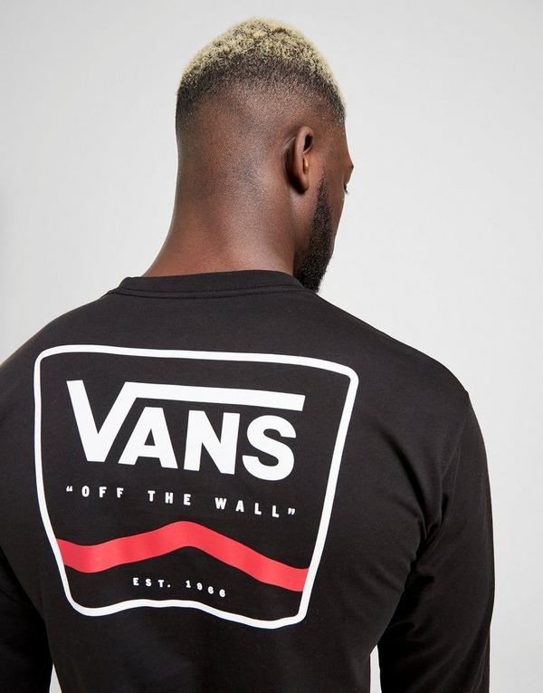 Vans Long Sleeve Side Stripe T-Shirt
