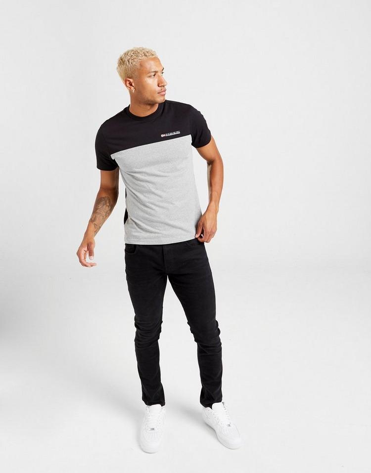Napapijri Colour Block Short Sleeve T-Shirt