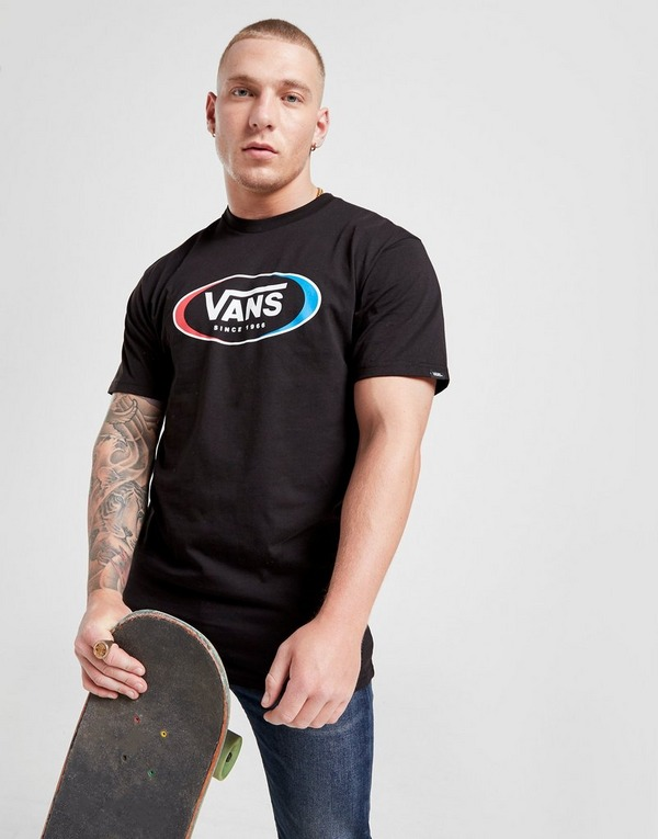 Vans Short Sleeve Oval Skate T-Shirt
