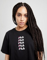 Fila Repeat Logo Crop T-Shirt