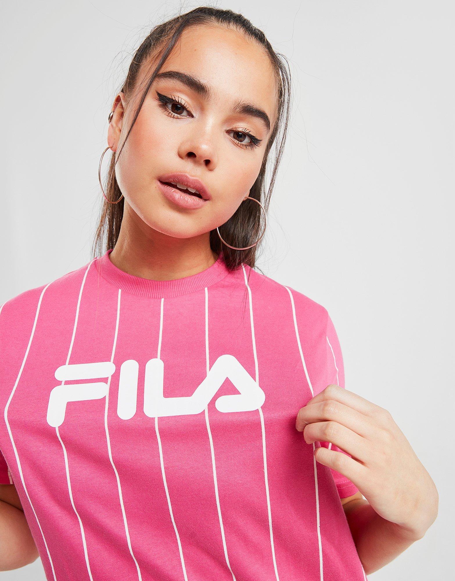 fila t shirt rose