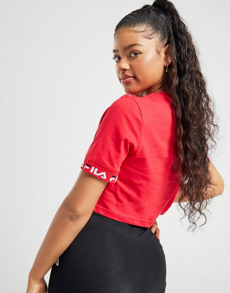 Fila T-shirt Jacquard Crop Femme