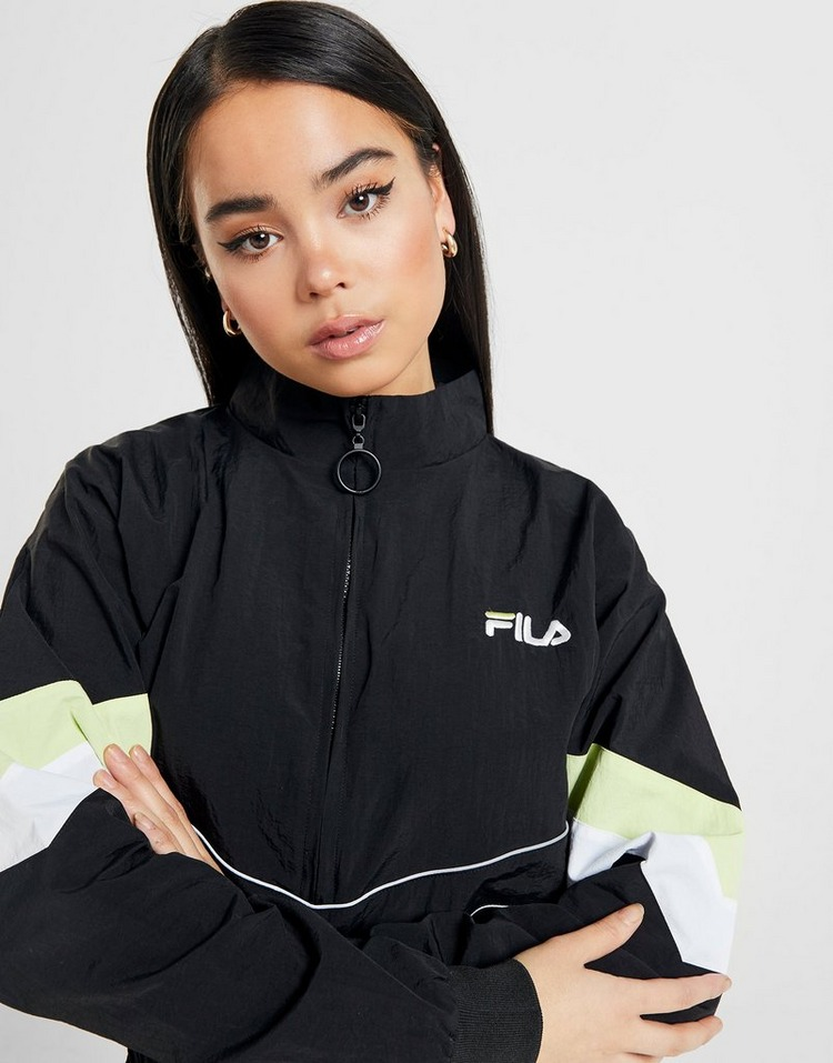 Fila Piping Woven 1/4 Zip Jacket Dames