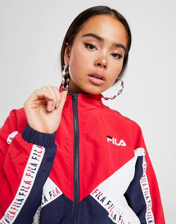 Fila Colour Block Full Zip Tape Woven Jacktet