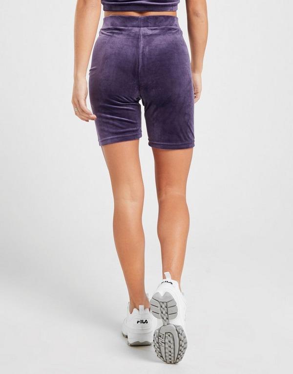 Fila Velour Diamante Cycle Shorts