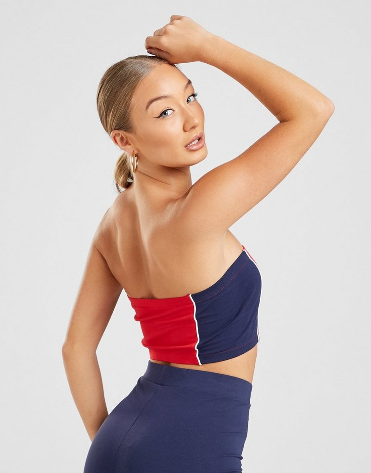 Fila Colour Block Bandeau Top