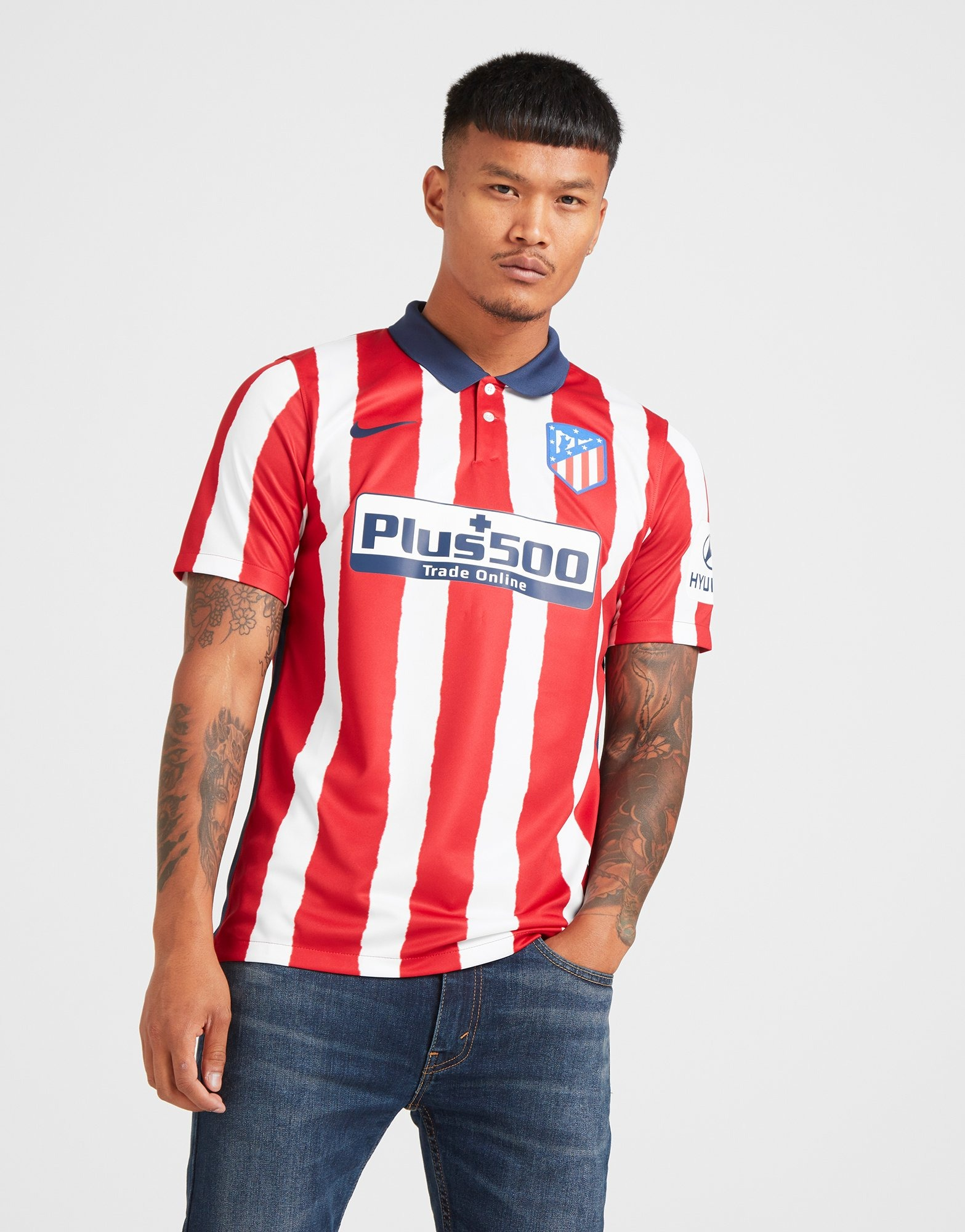Nike Atletico Madrid 2020 21 Home Shirt
