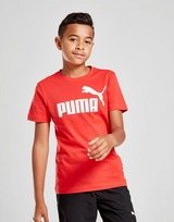 PUMA camiseta Essential Logo júnior