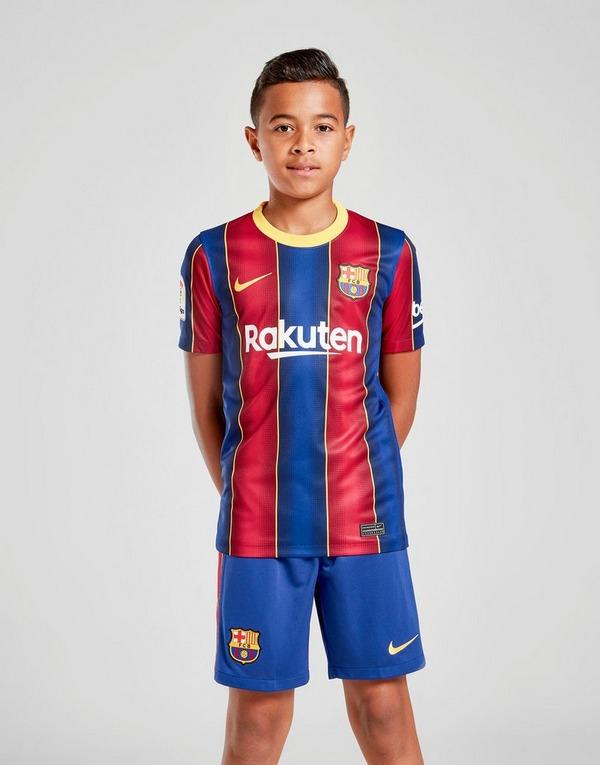 Nike Fc Barcelona 2020 21 Home Shorts Junior