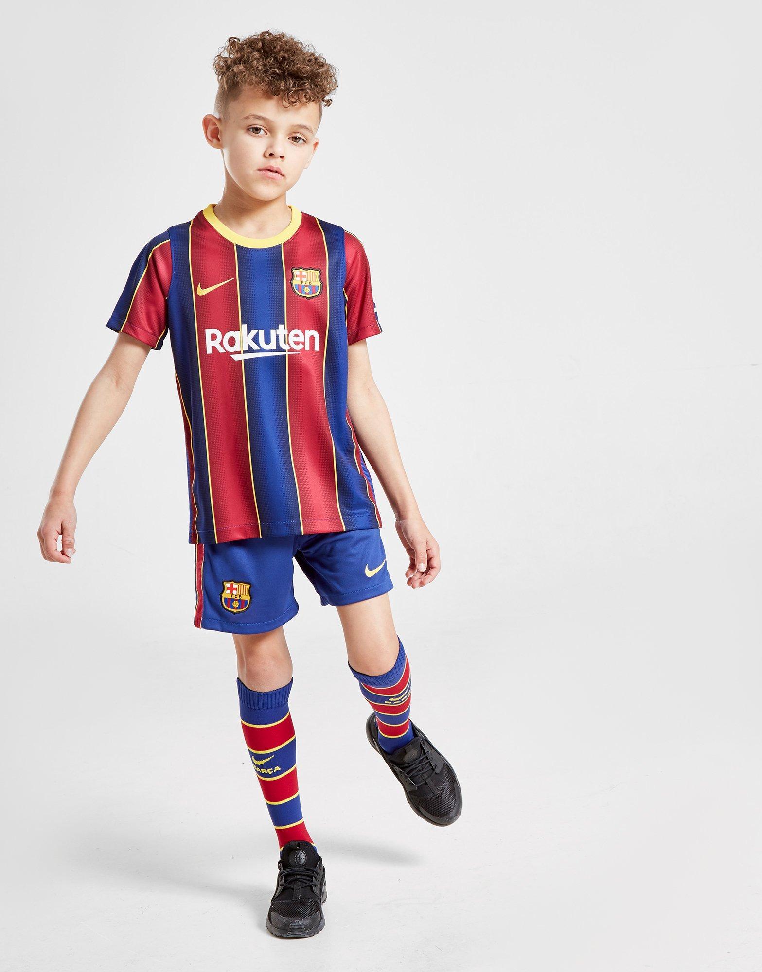 Buy Nike Fc Barcelona 2020 21 Home Kit Children Jd Sports