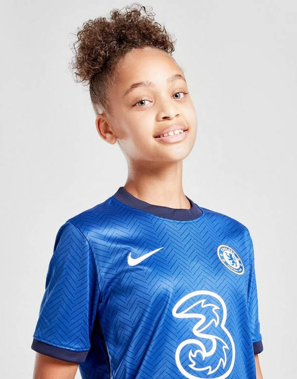 demanda Consciente de Levántate  Buy Blue Nike Chelsea FC 2020/21 Home Shirt Junior | JD Sports