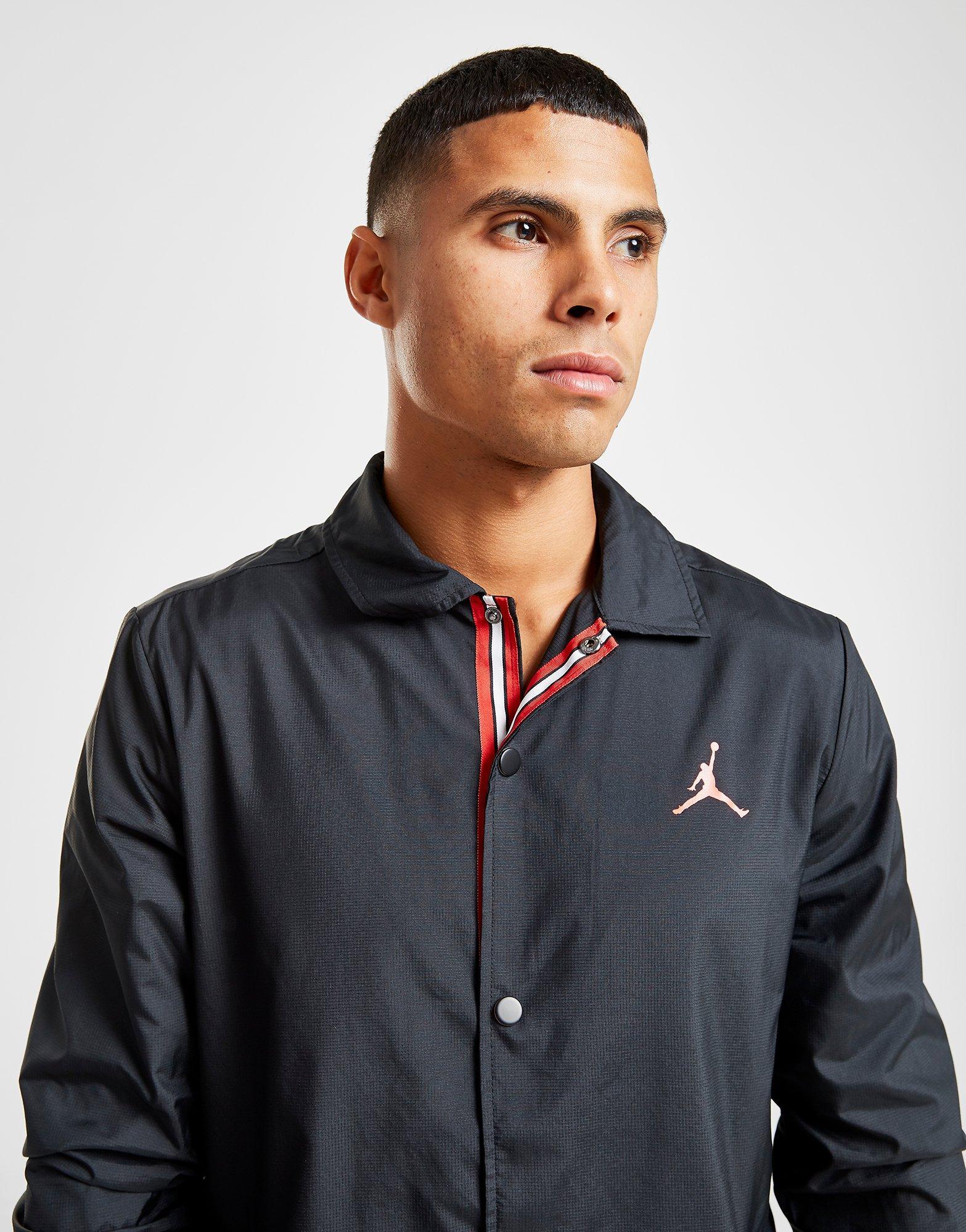 nike jordan x psg coaches jacket