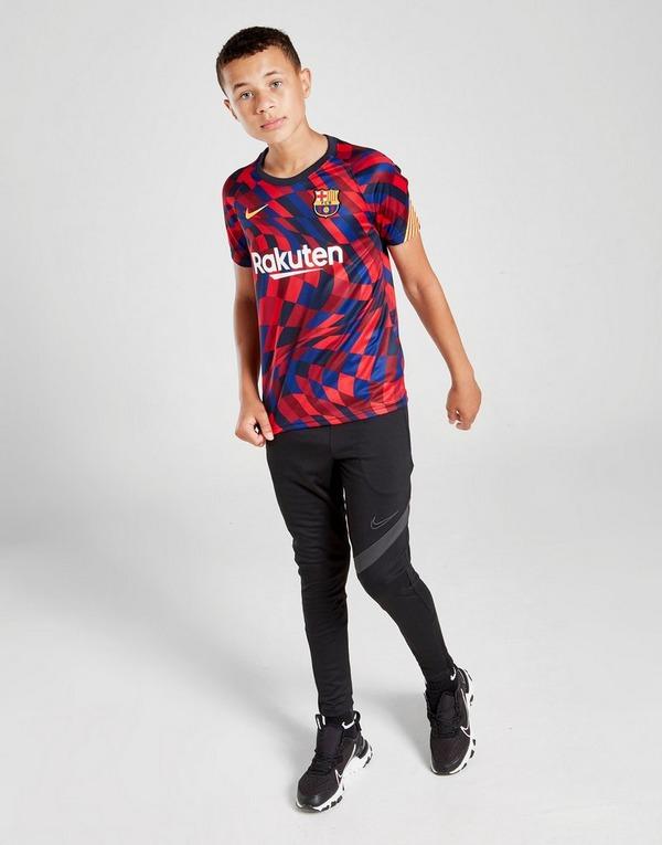 Nike FC Barcelona Pre Match Short Sleeve Shirt Junior
