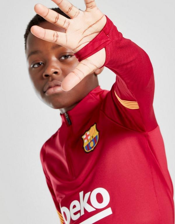 Nike FC Barcelona Strike Drill Top Junior