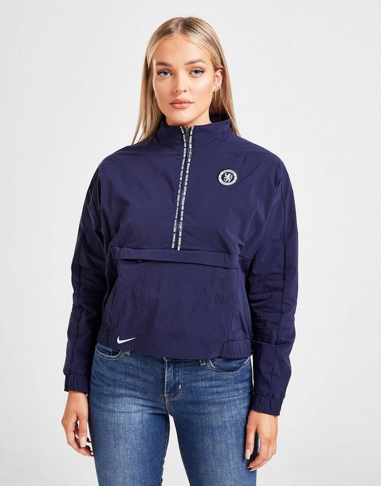 Nike Haut de football à 1/4 de zip Chelsea FC pour Femme