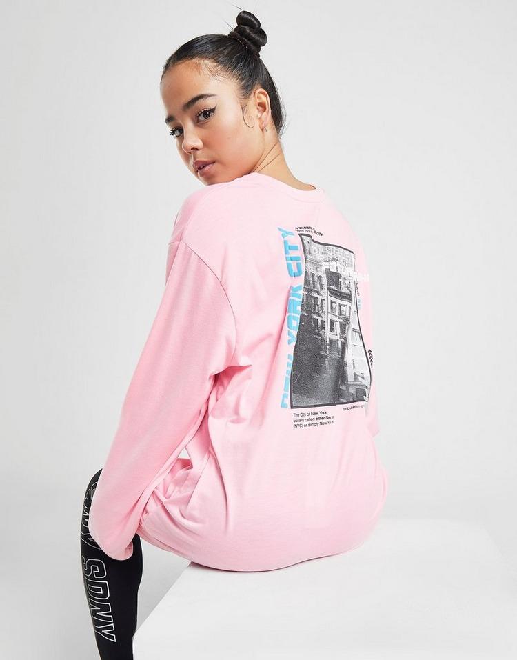 Supply & Demand New York Graphic Long Sleeve T-Shirt