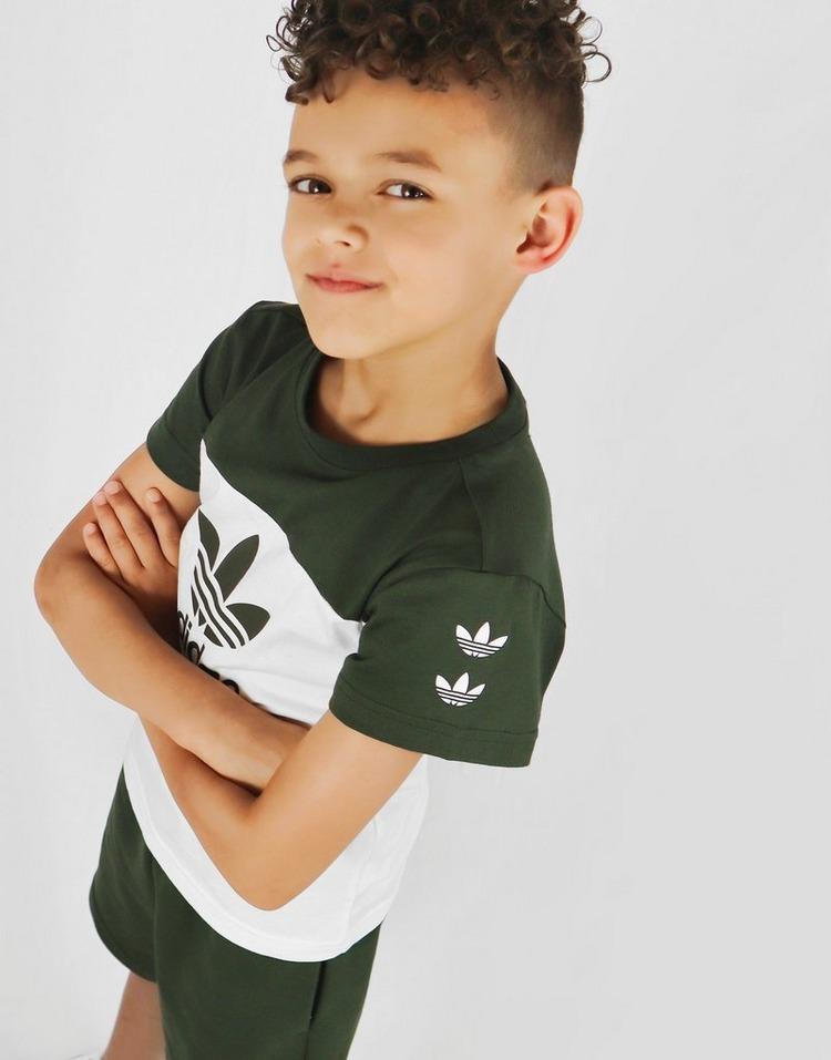 adidas Originals Repeat Trefoil T-Shirt/Shorts Sæt Børn