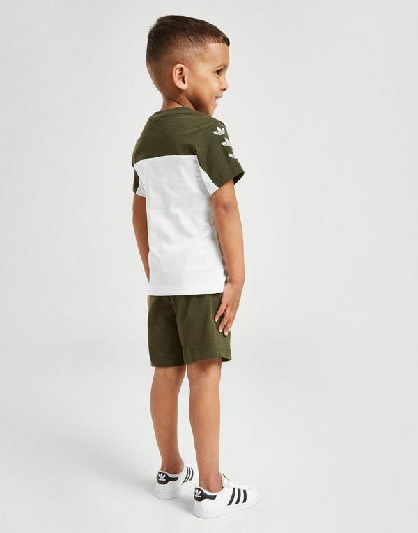 adidas Originals Repeat Trefoil T-Shirt/Shorts Sæt Småbørn