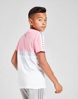 adidas Originals Colour Block Tape T-Shirt Junior
