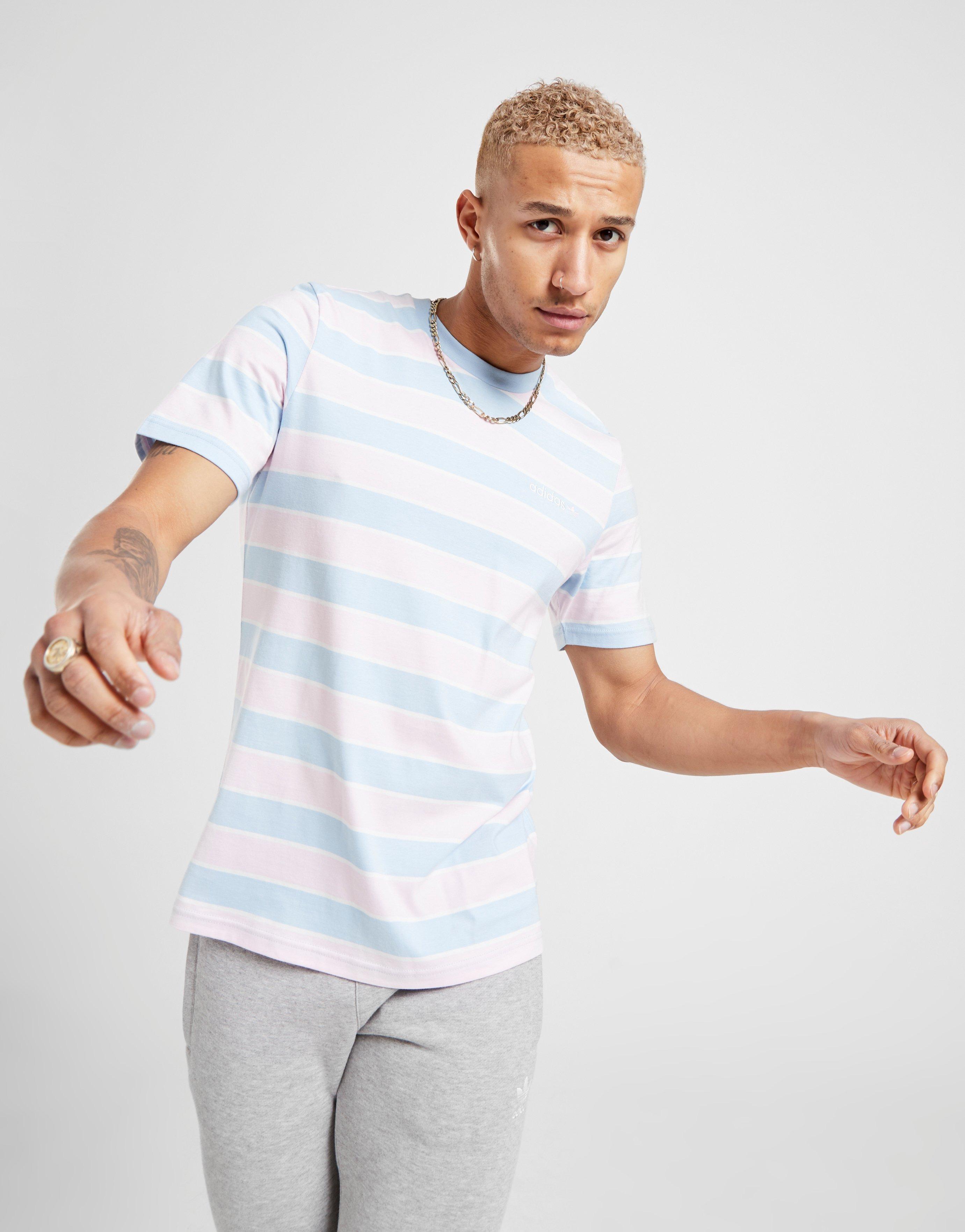 adidas Originals Linear 2.0 Stripe T Shirt Herr | JD Sports Sverige