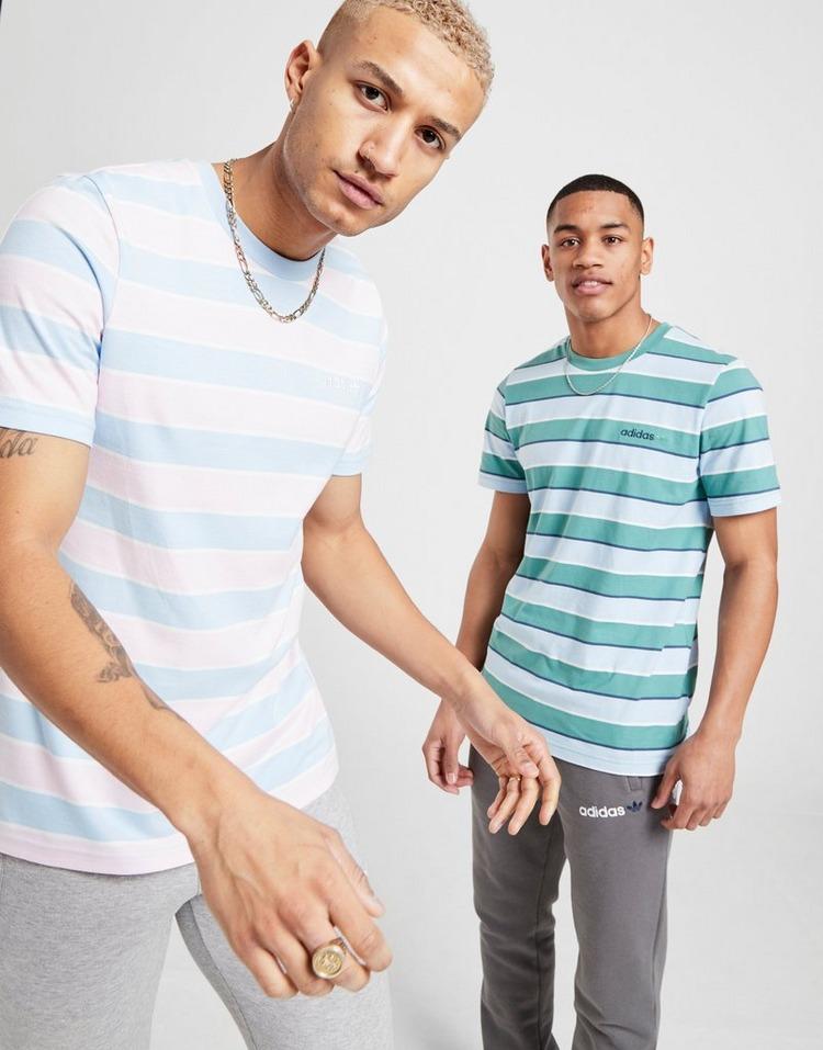 Shoppa adidas Originals Linear 2.0 Stripe T Shirt Herr i en