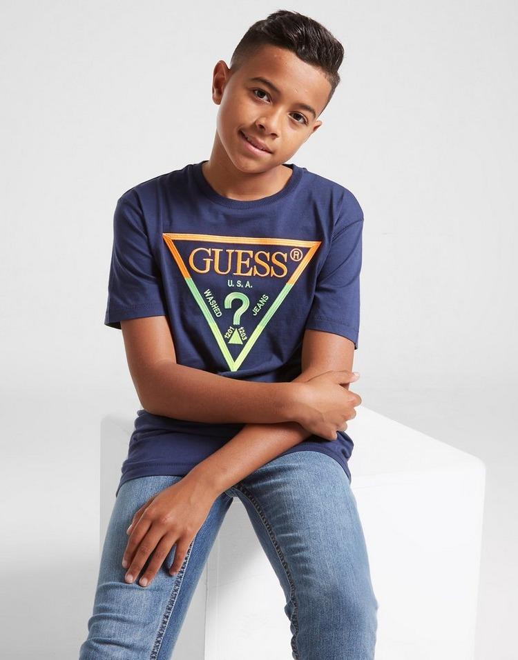 GUESS Triangle Logo T-Shirt Junior