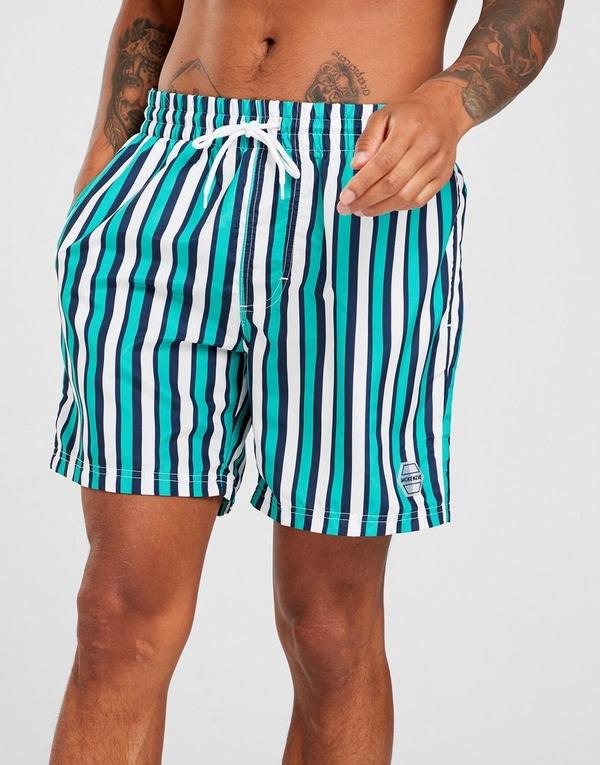 McKenzie Ugo Stripe Swim Shorts Men's