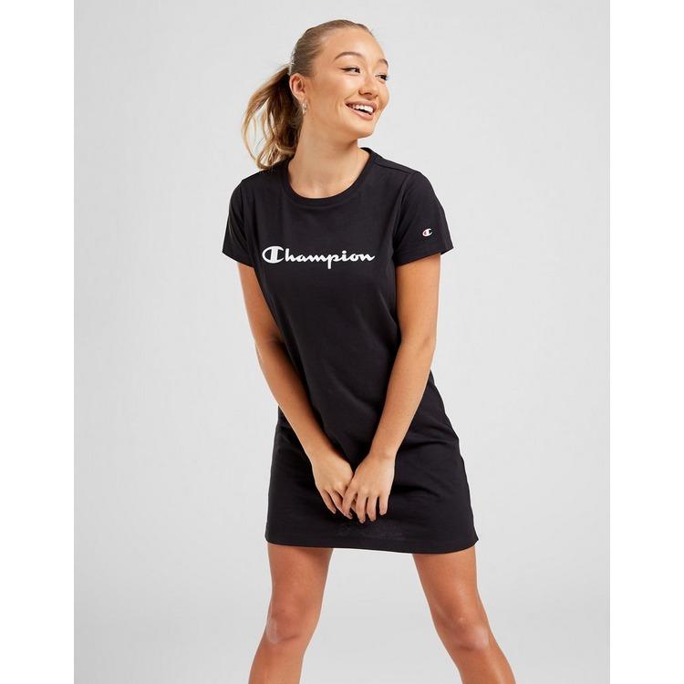 Champion T-Shirt-Robe Script Logo Femme