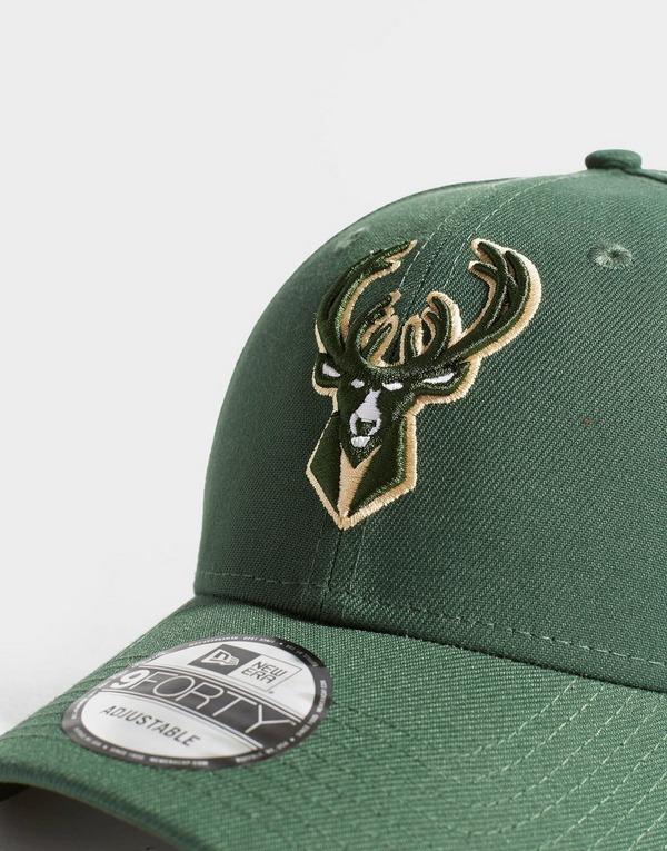 New Era NBA 9FORTY Milwaukee Bucks Cap
