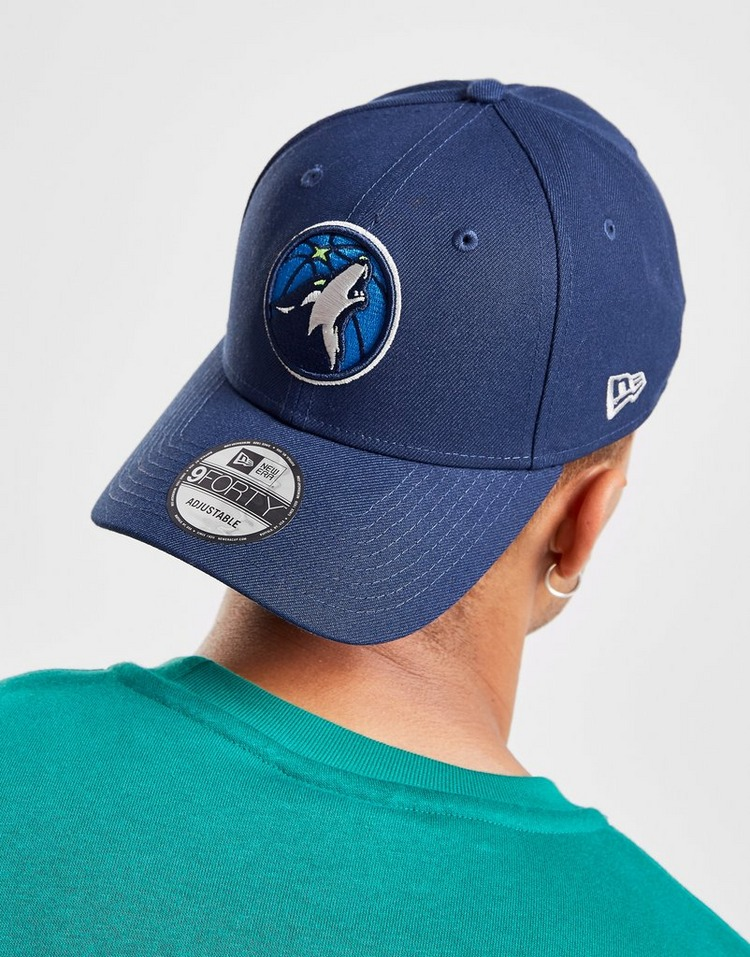 Blue The League 9forty Adjustable Cap Minnesota Timberwolves New Era